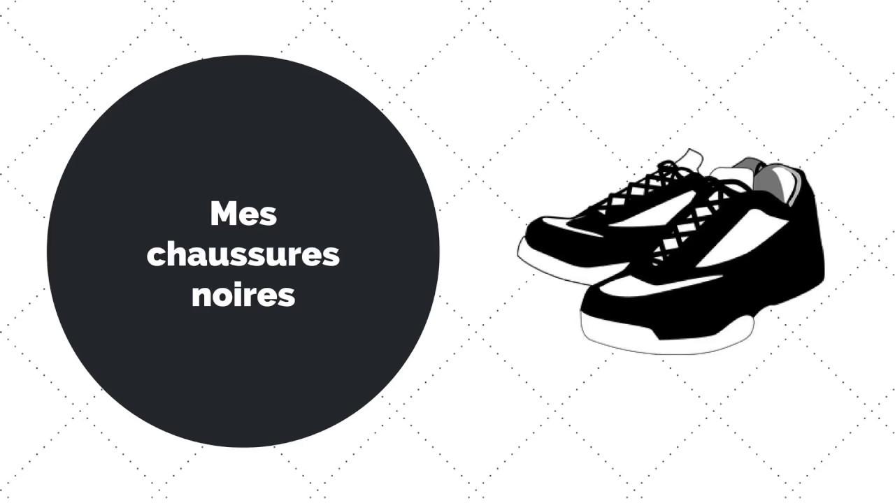 56011790595432 Les chaussures noires - YouTube