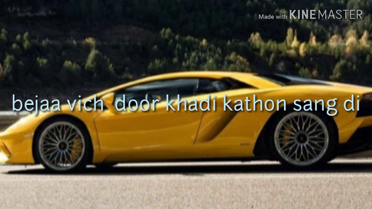 Lamborghini Song Lyrics Youtube