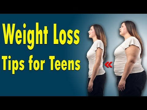 6 Simple Ways to Lose Weight fast for Teenagers in 5 Days | Weight Loss Tips for Teens