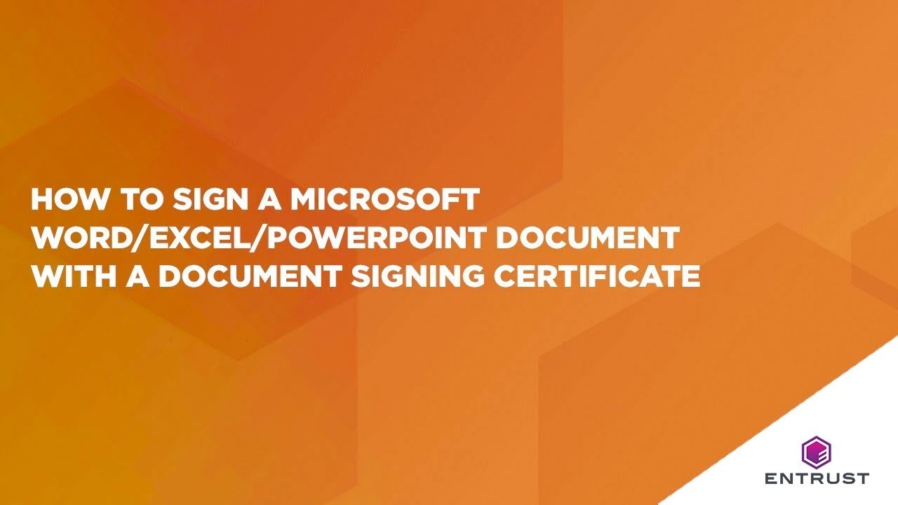 How to sign a microsoft wordexcelpowerpoint document with a how to sign a microsoft wordexcelpowerpoint document with a document signing certificate xflitez Choice Image