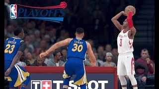 NBA 2K18 : Warriors vs. Rockets | 1440p 60fps - PC Gameplay