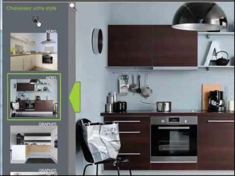 logiciel de cuisine 3d doovi. Black Bedroom Furniture Sets. Home Design Ideas