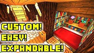 Minecraft Underground House Tutorial (How to Build)