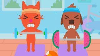 Fun Pet Animal Care Kids Games - Sago Mini Apartment - Fun Educational Games For Toddlers