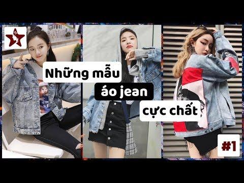 Những Mẫu áo Khoác Jean (áo Khoác Bò) Cực Chất Cho Nữ