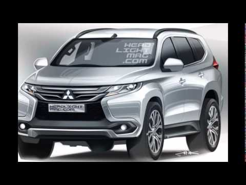 mitsubishi s 2016 pajero sport suv struts its rugged new suit youtube. Black Bedroom Furniture Sets. Home Design Ideas