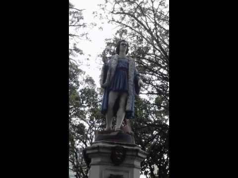 Christopher Columbus square, port of Spain, Trinidad.