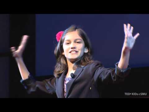 Asha Christensen at TEDxKids@SMU 2012