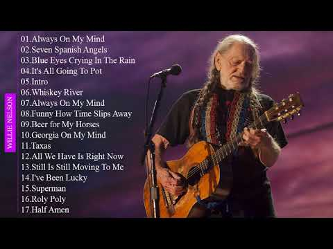 Best ROCK Songs Of Willie Nelson || Willie Nelson Greatest Hits Full Album 2018
