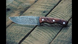 Making a Damascus Steel Knife