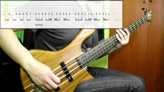 Slipknot - Before I Forget (Bass Cover) (Play Along Tabs In Video)
