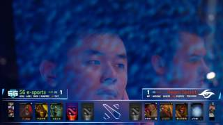 The Kiev Major | Main Event Day 2 | SG e-sports vs. Team Secret | Game 3