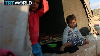 The War In Syria: Displaced Syrians in Idlib brace for winter