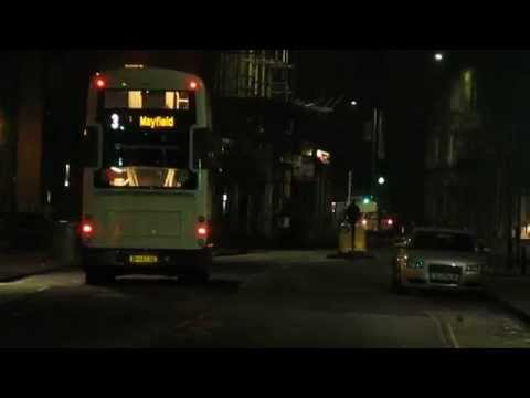 Lothianbuses Volvo B5 Departing gorgie heading to town for Mayfield on a service 3