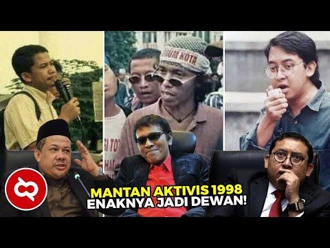 Begini Transformasi Aktivis 98! Dulu Pemuda Pro Rakyat Sekarang Dituding Sengsarakan Rakyat
