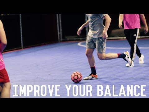 Balance Drills For Footballers/Soccer Players | Improve Your Balance and Increase Performance