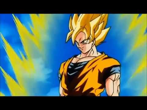 Goku powers up to super saiyan 3 youtube - Sangoten super sayen 3 ...