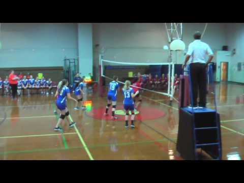 Toano Middle School at Berkeley Middle School,VBall 10 Oct 2016