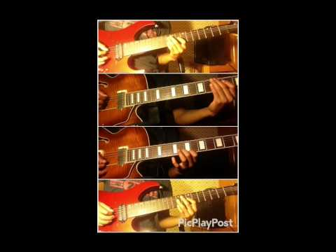 STRFKR- Rawnald Gregory Erickson the Second (four part guitar cover)