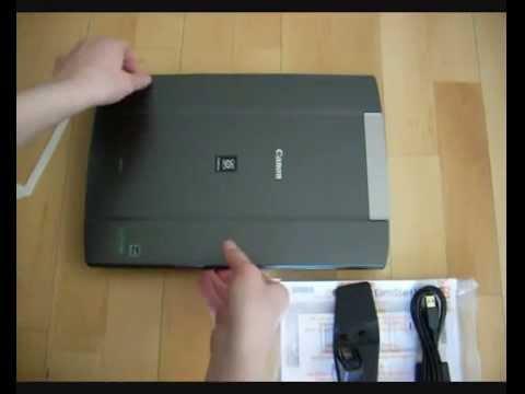 Canon Scan Lide 700f Драйвер - YouTube