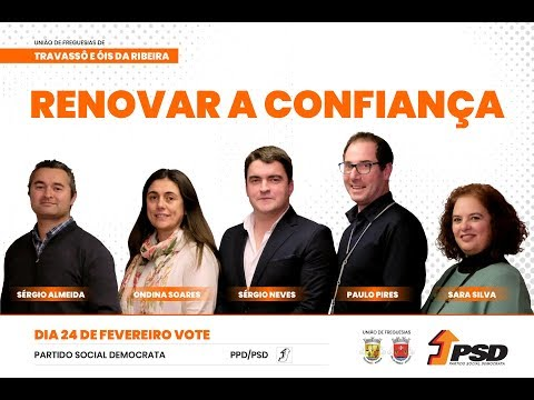 Vitória do PSD - Travassô e Ois da Ribeira