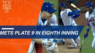Frazier, Lagares, Cespedes key in huge rally for Mets