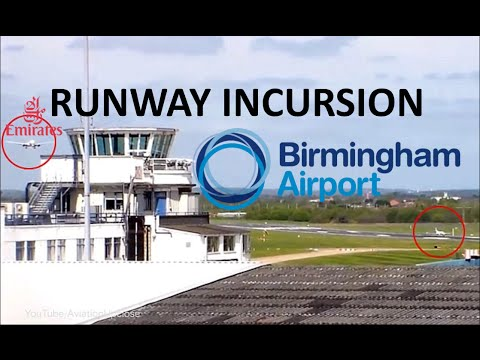 Runway Incursion at Birmingham Airport