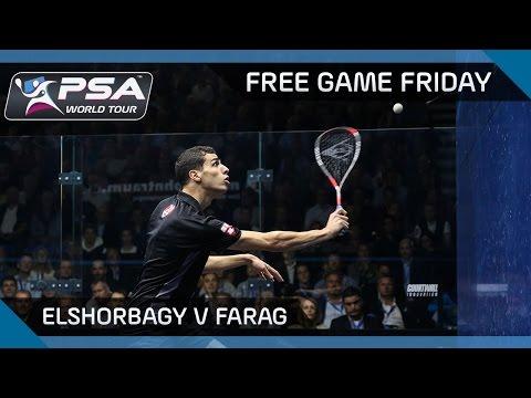 Squash: Free Game Friday - ElShorbagy v Farag - Grasshopper Cup 2017
