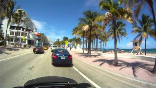 Cruising Ft. Lauderdale Beach - Harley Davidson - Drift HD170
