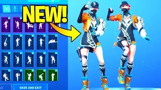 *NEW* BIZ Skin Showcase With Dance Emotes! Fortnite Battle Royale