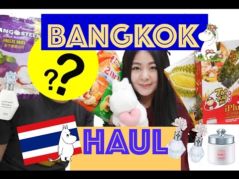 Bangkok Haul + Giveaway With Mystery Guest