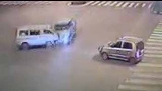 Caught on camera: deadly hit-and-run near Mumbai
