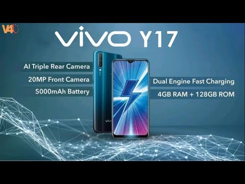 Vivo Y17 Official Video, Price, 5000mAh Battery, Release Date, Specs