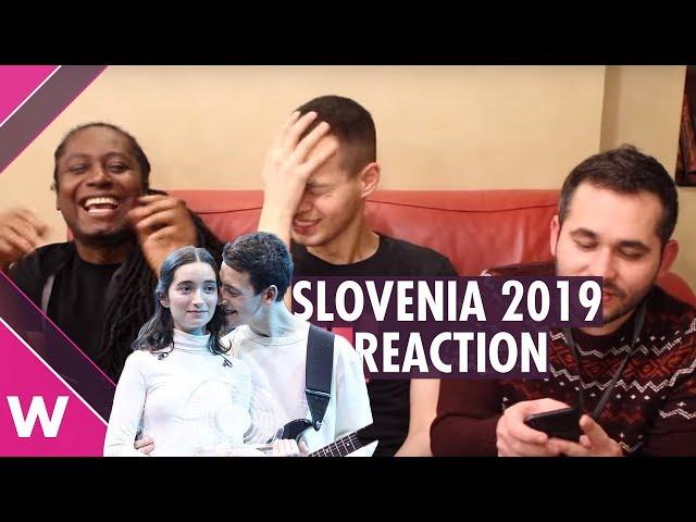 Zala Kralj & Gašper Šantl win Slovenia EMA 2019 (REACTION)