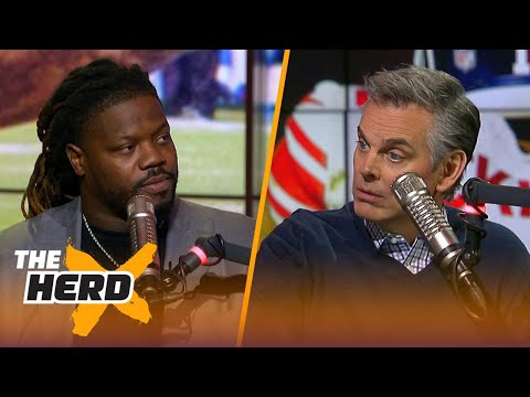 Damon Harrison shares the story behind his unlikely path to the NFL | THE HERD