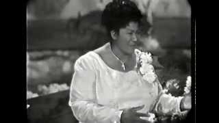 Mahalia Jackson in concert 1961 - Hamburg