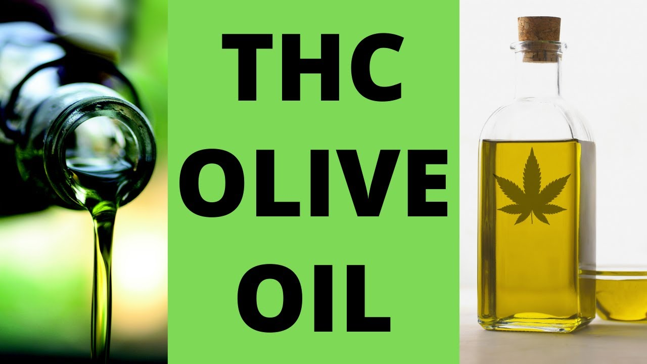 How to make Cannabis THC Olive Oil with Trim/Flower