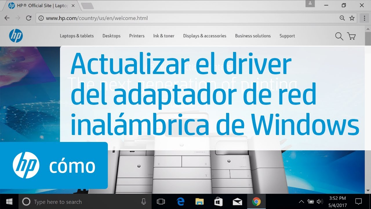 Actualizar el driver del adaptador de red inalámbrica de Windows | HP  Computers | HP