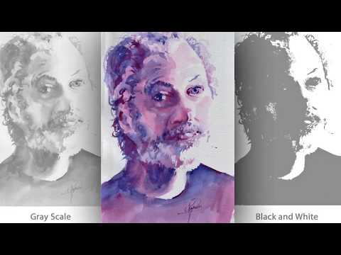 "Video Tutorial #6 ""Violet Shadows"" Portrait Painting"
