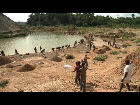 Les diamants ne sont pas éternels en Sierra Leone
