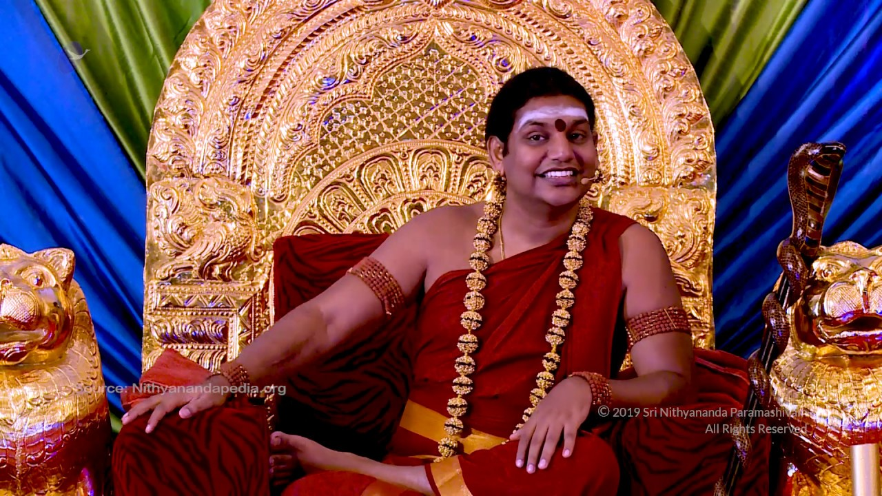 Nithyananda org youtube