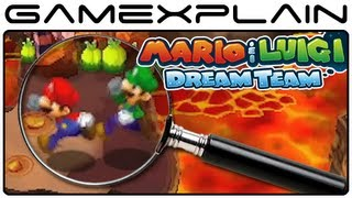 Mario & Luigi: Dream Team - Gameplay Analysis Part 2 (Secrets & Hidden Details)