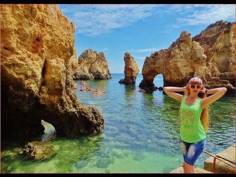 World Most Beautiful Beach, Portugal Lagos