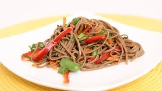 Soba Noodle Salad Recipe - Laura Vitale - Laura in the Kitchen Episode 621