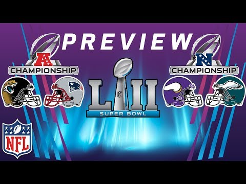 NFC & AFC Championship Preview, X-Factors, & Breakdown | NFL Playbook