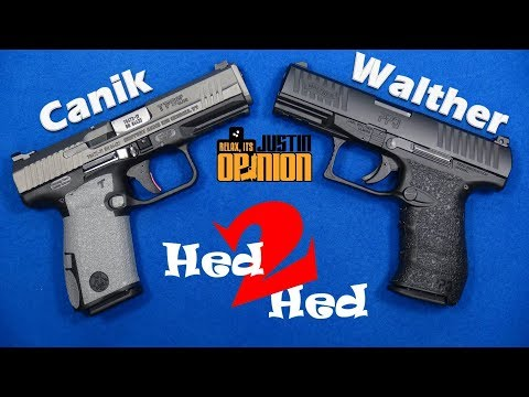 Canik TP9SF Elite vs. Walther PPQ