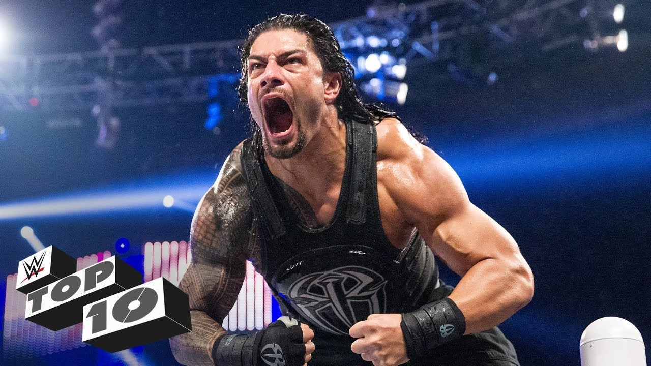 roman reigns powerful displays