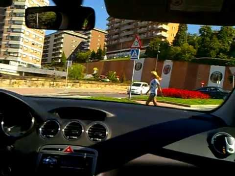 driving in bilbao