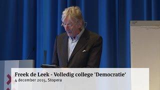 Freek de Leek - Volledig college 'Democratie'