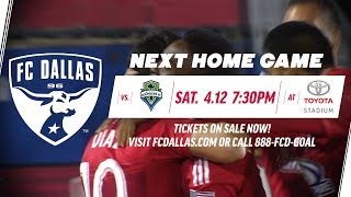WILL YOU BE THERE? | Join us Saturday night vs Seattle Sounders FC